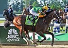 "Palace Malice won the 2013 Belmont Stakes. <br><a target=""blank"" href=""http://photos.bloodhorse.com/TripleCrown/2013-Triple-Crown/Belmont-Stakes-145/29744699_jpqpwR#!i=2563211417&k=PB7vkmZ"">Order This Photo</a>"