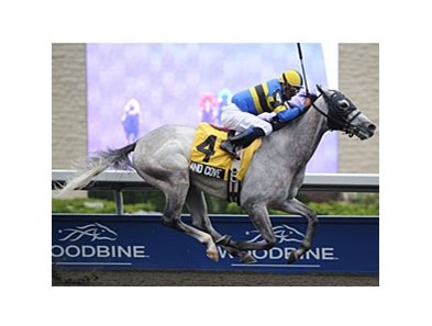 Sand Cove captured his sixth career stakes event by winning the Seagram Cup Stakes at Woodbine.