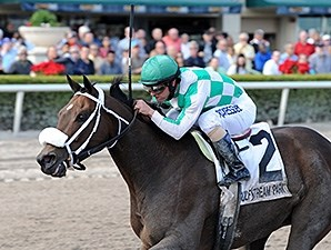Merry Meadow wins the 2014 Sugar Swirl.
