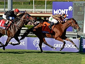 Little Mike wins the Breeders' Cup Turf.
