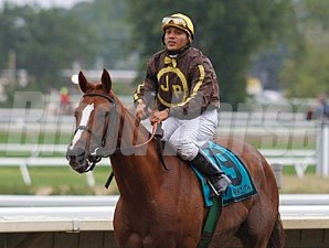 Love That Dance wins the 2010 Trenton Stakes.