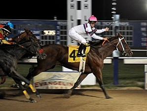Star Guitar wins the 2010 Evangeline Mile.