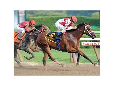 Havre de Grace in the Woodward Stakes.