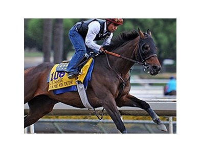"Game On Dude<br><a target=""blank"" href=""http://photos.bloodhorse.com/BreedersCup/2013-Breeders-Cup/Breeders-Cup/32986083_QMHXWK#!i=2867189173&k=B9K4nmq"">Order This Photo</a>"