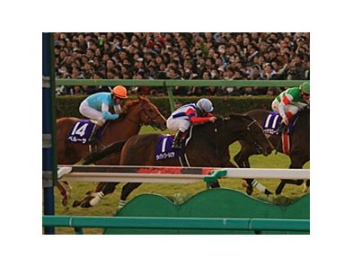 Victoire Pisa in the Arima Kinen 2010.