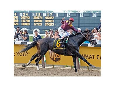 Da' Tara and Alan Garcia spring the upset in the Belmont Stakes.