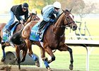 Grand Arch worked five furlongs on the dirt Oct. 25 at Keeneland.