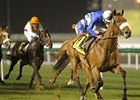 Rileyskeepingfaith and Ahmed Ajtebi upset the Zabeel Mile.