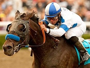 Twirling Candy wins the 2010 Malibu.