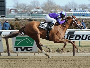 Princess of Sylmar wins the 2013 Busher.