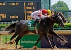 "Unrivaled Belle outfinishes Rachel Alexandra to win the La Troienne.<br><a target=""blank"" href=""http://www.bloodhorse.com/horse-racing/photo-store?ref=http%3A%2F%2Fpictopia.com%2Fperl%2Fgal%3Fprovider_id%3D368%26ptp_photo_id%3D8937171%26ref%3Dstory"">Order This Photo</a>"