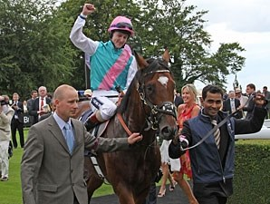 Frankel wins the 2011 Sussex Stakes.