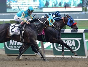 Private Zone wins the 2013 Vosburgh.