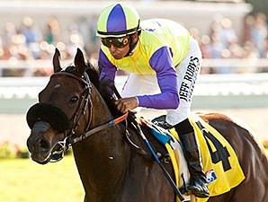 Big John B wins the 2014 Del Mar Handicap.