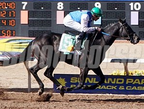 Forest Mouse wins the Sunland Park Handicap.