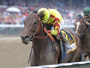 All A's for Turbulent Descent in Test Stakes