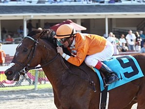 Mad Flatter wins the 2010 Spend A Buck.