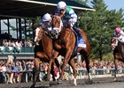 "Winning Cause comes home strong to win the Coolmore Lexington Stakes.<br><a target=""blank"" href=""http://photos.bloodhorse.com/AtTheRaces-1/at-the-races-2013/27257665_QgCqdh#!i=2467436204&k=FFnbW77"">Order This Photo</a>"
