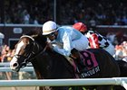 "Courageous Cat comes home strong in the National Museum of Racing Hall of Fame Stakes.<br><a target=""blank"" href=""http://www.bloodhorse.com/horse-racing/photo-store?ref=http%3A%2F%2Fpictopia.com%2Fperl%2Fgal%3Fprovider_id%3D368%26ptp_photo_id%3D8405422%26ref%3Dstory"">Order This Photo</a>"