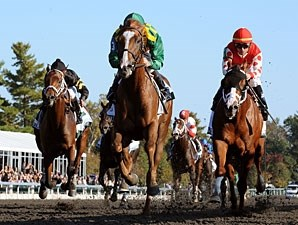 Dullahan wins the 2011 Dixiana Breeders' Futurity.