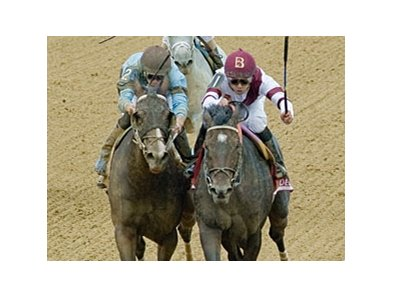 Royal Delta in the Delaware Handicap.