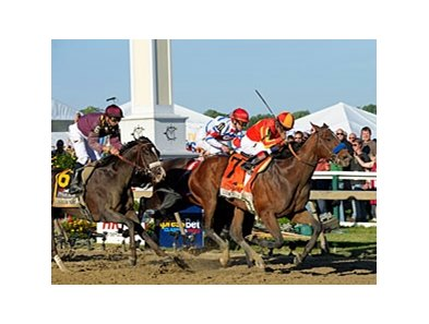 "Lookin At Lucky comes home strong to win the Preakness Stakes.<br><a target=""blank"" href=""http://www.bloodhorse.com/horse-racing/photo-store?ref=http%3A%2F%2Fpictopia.com%2Fperl%2Fgal%3Fprovider_id%3D368%26ptp_photo_id%3D8959490%26ref%3Dstory"">Order This Photo</a>"