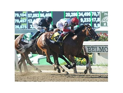 Baby J in the Victory Ride Stakes.