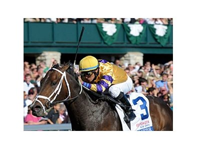 "Blue Grass winner Stately Victor sold for $250,000 at the 2009 Adena Springs sale of 2-year-olds in training.<br><a target=""blank"" href=""http://www.bloodhorse.com/horse-racing/photo-store?ref=http%3A%2F%2Fpictopia.com%2Fperl%2Fgal%3Fprovider_id%3D368%26ptp_photo_id%3D8885708%26ref%3Dstory"">Order This Photo</a>"