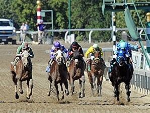 Better Bet wins the 2013 Golden State Juvenile.