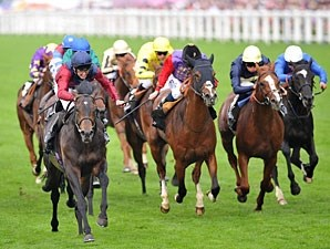 Elidor wins the 2013 King George V Stakes at Royal Ascot.