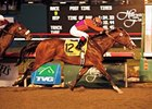 "Into Mischief won the Grade I CashCall Futurity in 2007. <br><a target=""blank"" href=""http://www.bloodhorse.com/horse-racing/photo-store?ref=http%3A%2F%2Fpictopia.com%2Fperl%2Fgal%3Fprovider_id%3D368%26ptp_photo_id%3D3157957%0D%0A%26ref%3Dstory"">Order This Photo</a>"