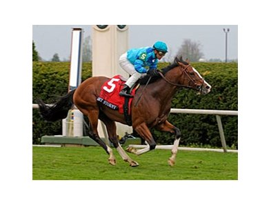 "Get Stormy and Javier Castellano are home free in the Maker's Mark Mile.<br><a target=""blank"" href=""http://www.bloodhorse.com/horse-racing/photo-store?ref=http%3A%2F%2Fpictopia.com%2Fperl%2Fgal%3Fprovider_id%3D368%26ptp_photo_id%3D9493153%26ref%3Dstory"">Order This Photo</a>"