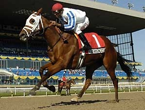 Officer Cherrie won the Mazzarine BC (gr. III-Can) Sept. 29 2007 at Woodbine