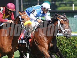 Interactif wins the 2010 Hall of Fame Stakes.