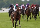 Frankel wins the Queen Anne by 11 lengths.