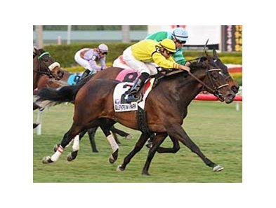 "Lady Carlock took the Suwanee River at Gulfstream on Feb. 1.<br><a target=""blank"" href=""http://www.bloodhorse.com/horse-racing/photo-store?ref=http%3A%2F%2Fpictopia.com%2Fperl%2Fgal%3Fprovider_id%3D368%26ptp_photo_id%3D7618320%26ref%3Dstory"">Order This Photo</a>"