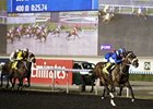 Soft Falling Rain leads the way in the Duty Free Jumeirah Creekside United Arab Emirates Two Thousand Guineas Trial.