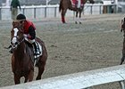"Buggin Out leaves the rest behind in the Magic City Stakes.<br><a target=""blank"" href=""http://photos.bloodhorse.com/AtTheRaces-1/At-the-Races-2014/i-KtBSwtM"">Order This Photo</a>"