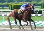"Munnings had no trouble winning the Tom Fool at Belmont Park.<br><a target=""blank"" href=""http://www.bloodhorse.com/horse-racing/photo-store?ref=http%3A%2F%2Fpictopia.com%2Fperl%2Fgal%3Fprovider_id%3D368%26ptp_photo_id%3D8300694%26ref%3Dstory"">Order This Photo</a>"