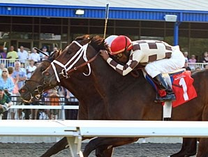 Embur's Song wins the 2011 Windward Stakes.