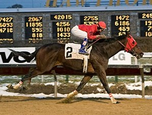 Devient Behavior wins the 2009 Jim Edgar Illinois Futurity.