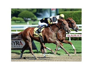 Dance to Bristol wins the Honorable Miss.