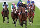 "Masked Marvel pulls away to win the Ladbrokes St. Leger Stakes at Doncaster.<br><a target=""blank"" href=""http://www.bloodhorse.com/horse-racing/photo-store?ref=http%3A%2F%2Fpictopia.com%2Fperl%2Fgal%3Fprovider_id%3D368%26ptp_photo_id%3D9662376%26ref%3Dstory"">Order This Photo</a>"