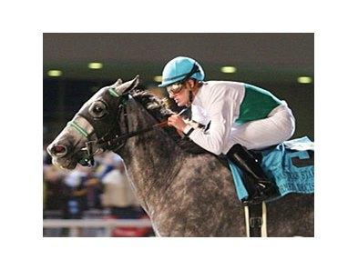 Informed Decision drew the outside post in the Thoroughbred Club of America Stakes.