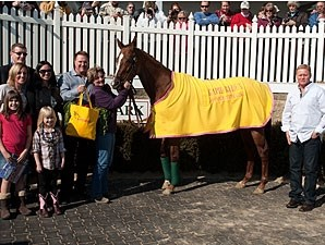 Rapid Redux honored at Laurel on February 18.