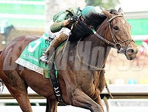 Don't Tell Sophia wins the Juddmonte Spinster.