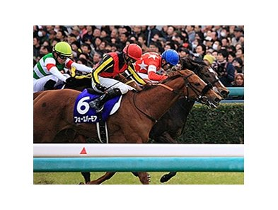 Red Reveur wins the Hanshin Juvenile Fillies.