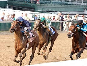 Noble's Promise wins the 2011 Aristides.