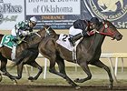 Shotgun Kowboy defeated Bayerd in the Clever Trevor Stakes on November 7.