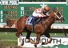 Just Jenda Impressive Winner in Monmouth Oaks